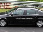 2012 Volkswagen Passat test-mule spy shots