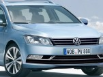 2012 Volkswagen Passat Wagon rendering
