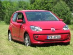 2012 Volkswagen Up minicar (German model), road test, Catskill Mountains, NY, May 2012