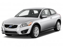 2012 Volvo C30 2-door Coupe Auto Angular Front Exterior View