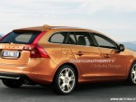 2012 Volvo V60 rendering