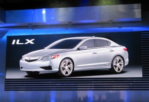 2013 Acura ILX Concept, 2013 RDX Crossover Concept: 2012 Detroit Auto Show