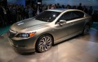 2014 Acura RLX Concept Live Photos: 2012 New York Auto Show