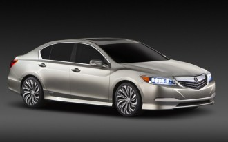 2014 Acura RLX Concept Previews Upcoming Hybrid Sedan