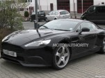 2013 Aston Martin DB9 spy shots