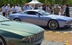 Aston Martin DB9 And DBS Zagato Centennial Live Photos