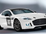 2013 Aston Martin Hybrid Hydrogen Rapide S race car