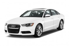 2013 Audi A6 4-door Sedan FrontTrak 2.0T Premium Plus Angular Front Exterior View
