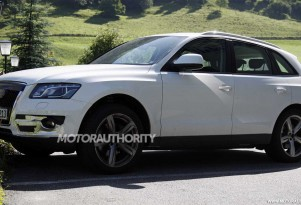 2013 Audi Q5 S spy shots