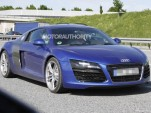 2013 Audi R8 facelift spy shots