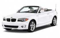2013 BMW 1-Series 2-door Convertible 128i Angular Front Exterior View