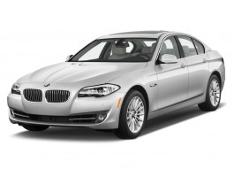 2013 BMW 5-Series 4-door Sedan ActiveHybrid 5 RWD Angular Front Exterior View