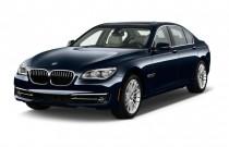 2013 BMW 7-Series 4-door Sedan 750i RWD Angular Front Exterior View