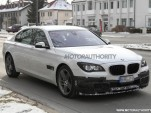 2013 BMW Alpina B7 spy shots