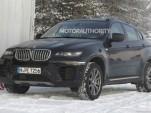 2013 BMW X6 facelift spy shots