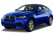 2013 BMW X6 M AWD 4-door Angular Front Exterior View
