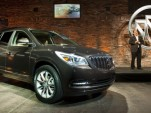 2013 Buick Enclave launch event before New York Auto Show, April 2012