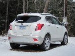 2013 Buick Encore, Catskill Mountains, New York, Feb 2013
