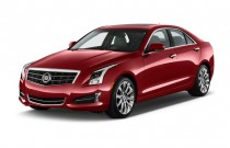 2013 Cadillac ATS 4-door Sedan 2.0L RWD Angular Front Exterior View