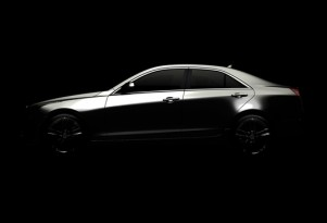 2013 Cadillac ATS Will Offer A New Turbocharged Four-Cylinder Engine