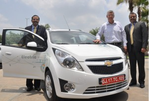 Chevy Shows Fourth Electric-Car Project: Beat EV Minicar In India