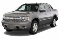 2013 Chevrolet Avalanche 2WD Crew Cab LTZ Angular Front Exterior View