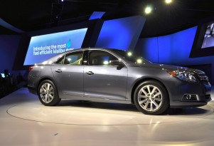 2013 Chevrolet Malibu Eco Gets 38 MPG: Live Photos, Preview