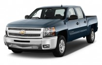 "2013 Chevrolet Silverado 1500 2WD Crew Cab 143.5"" LT Angular Front Exterior View"