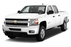 2013 Chevrolet Silverado 2500HD 4WD Crew Cab 153.7&quot; LT Angular Front Exterior View