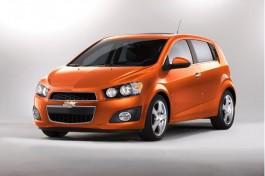 2013 Chevrolet Sonic hatchback