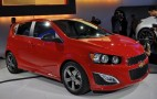 2013 Chevrolet Sonic RS Live Photos: 2012 Detroit Auto Show