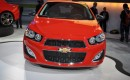 2013 Chevrolet Sonic RS Priced At $20,995: No Gas Mileage Yet