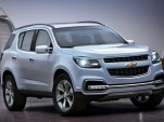 2013 Chevrolet TrailBlazer Revealed At Dubai Motor Show