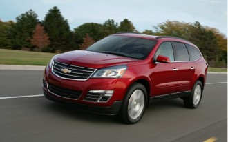 2013 Chevrolet Traverse Preview