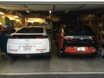 2013 Chevrolet Volt and its replacement, 2015 BMW i3 REx  [photo: Jeff Pantukhoff]