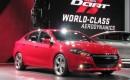 2013 Dodge Dart launch at Detroit Auto Show, Jan 2012