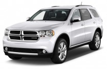 2013 Dodge Durango AWD 4-door Crew Angular Front Exterior View