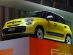 2013 Fiat 500L live photos