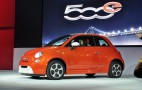 2014 Fiat 500e Electric Minicar: LA Auto Show Live Photos