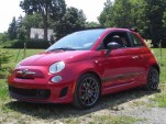 2013 Fiat 500c Abarth Cabrio, Catskill Mountains, NY, July 2013
