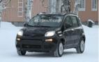 2013 Fiat Panda 4X4 Spy Shots