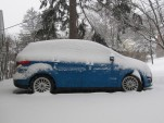2013 Ford C-Max Hybrid: Winter Gas Mileage Test Returns 35 MPG