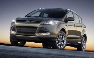 2013 Ford Escape Sets Crossover Pace At 33 MPG Hwy