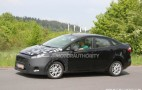 2014 Ford Fiesta Sedan Spy Shots