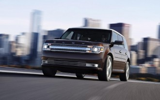 2013 Ford Flex: New Nose, Now MyFord-Touched