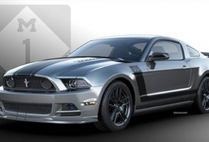 2013 Ford Mustang Boss 302 Laguna Seca, to be raffled for the National MS Society, Michigan chapter