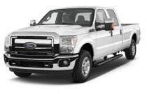 "2013 Ford Super Duty F-250 SRW 2WD Crew Cab 156"" XLT Angular Front Exterior View"