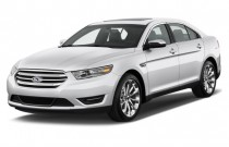 2013 Ford Taurus 4-door Sedan Limited FWD Angular Front Exterior View
