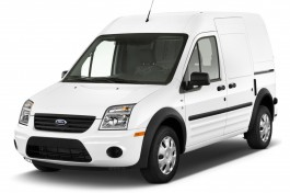 "2013 Ford Transit Connect 114.6"" XL w/o side or rear door glass Angular Front Exterior View"