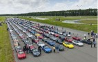 Record Gathering Of Mazda MX-5 Miatas Descend Upon Dutch City